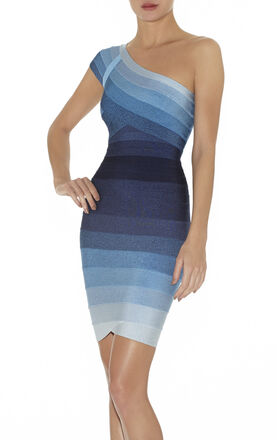 Annett Ombre Bandage Dress