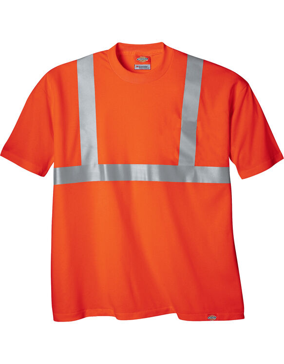 High Visibility ANSI Class 2 Tee - ANSI ORANGE (AO)