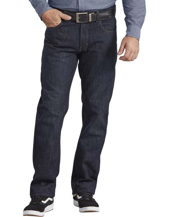 Dickies X-Series Regular Fit Straight Leg 5-Pocket Denim Jean - HERITAGE DARK INDIGO (HDI)