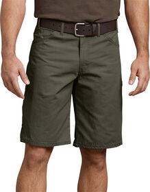 """11"""" Relaxed Fit Ripstop Carpenter Short - RINSED MOSS GREEN (RMS)"""