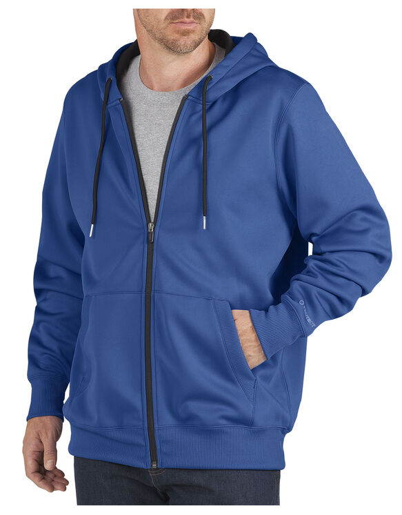 Performance Fleece Full Zip Hoodie - ROYAL BLUE (RB)