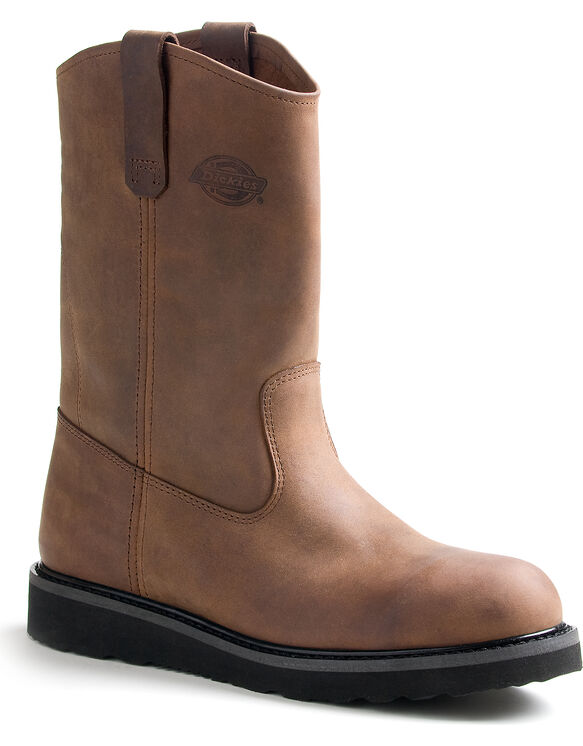 Men's Rogue Ranch Wellington Work Boots - CRAZY HORSE BROWN-LICENSEE (FCB)