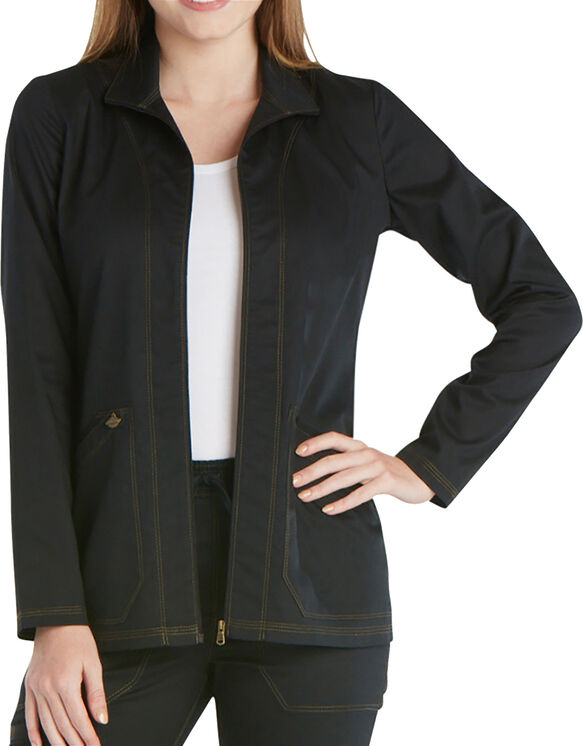 Women's Essence Warm-up Jacket - BLACK-LICENSEE (BLK)