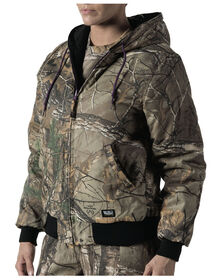 Walls® Women's Hunting Insulated Reversible Hooded Jacket - REAL TREE XTRA (AX9)
