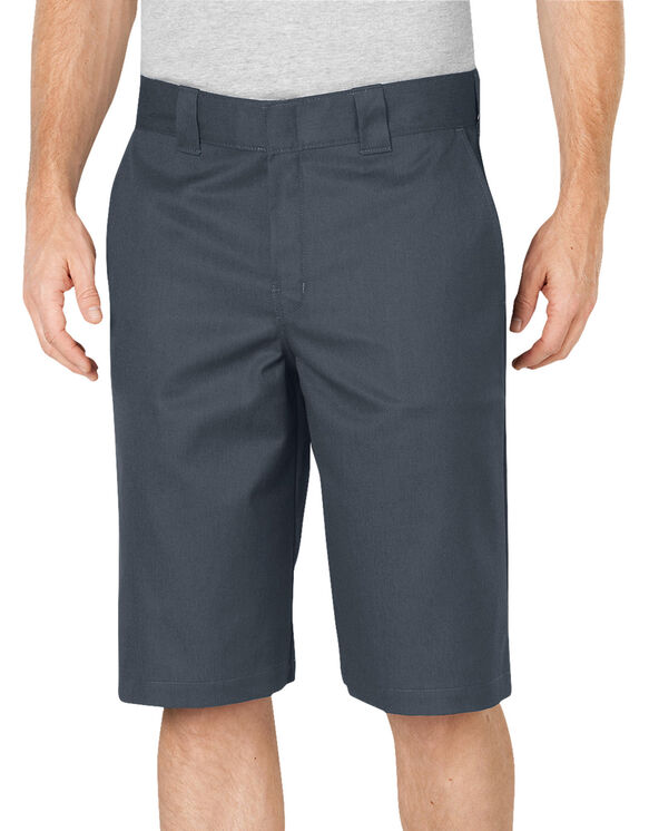 "Flex 13"" Relaxed Fit Work Short - CHARCOAL (CH)"