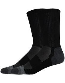 Steel Toe SORBTEK® Light Cushion Crew Socks, Size 6-12 - BLACK (BK)