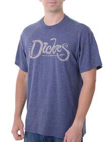 Dickies Bike Graphic Short Sleeve Tee - BLUE HEATHER (UH)