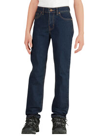 Boys' Flex Slim Fit Skinny Leg 5-Pocket Denim Jean, 8-20 - MED STONEWASH W/ TINT (MNT)
