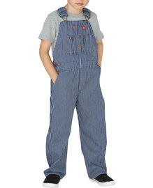 Toddler Denim Bib Overall - RINSED HICKORY STRIPE (RHS)