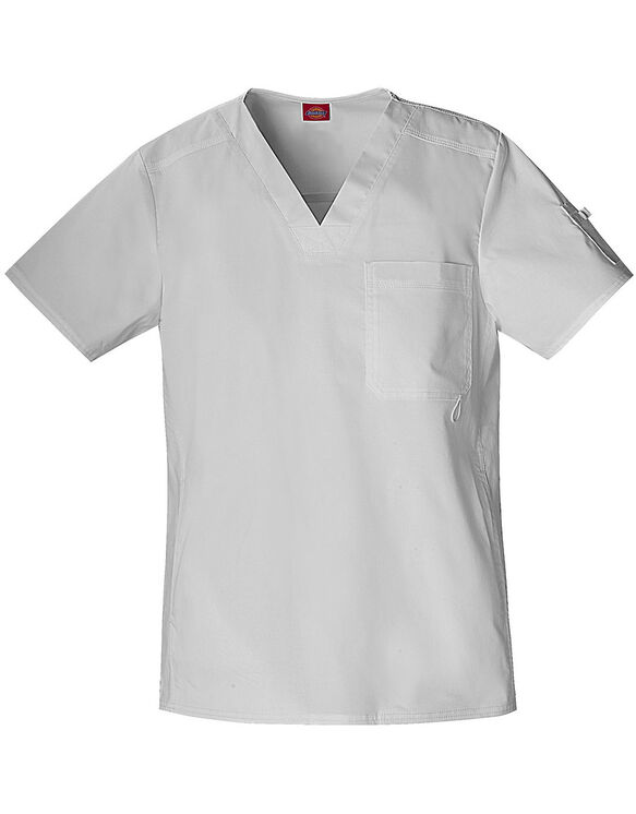Men's Gen Flex Youtility Scrub Top - DICKIES WHITE (DWH)