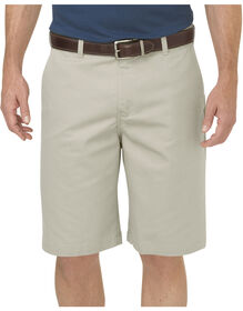 "Dickies KHAKI 10"" Relaxed Fit Comfort Waist Short - RINSED STONE (RST)"