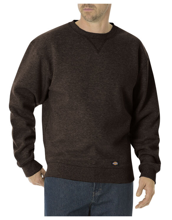 Heavyweight Fleece Crew Neck - CHOCOLATE BROWN (CB)