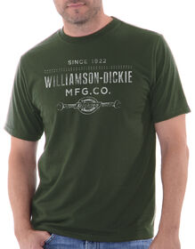 Dickies Dee Dub Graphic Short Sleeve Tee - MILITARY GREEN (ML)