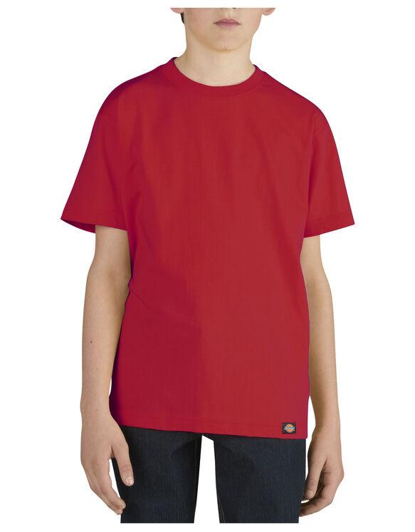 Boys' Short Sleeve Performance Tee, 8-20 - ENGLISH RED (ER)