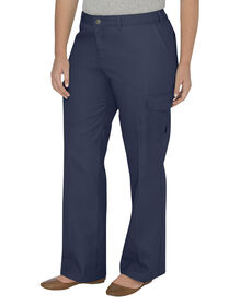 Women's Relaxed Straight Server Cargo Pant (Plus) - NAVY (NV)