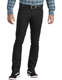 Pantalon à 5 poches jambe effilée - Noir délavé (SBK)