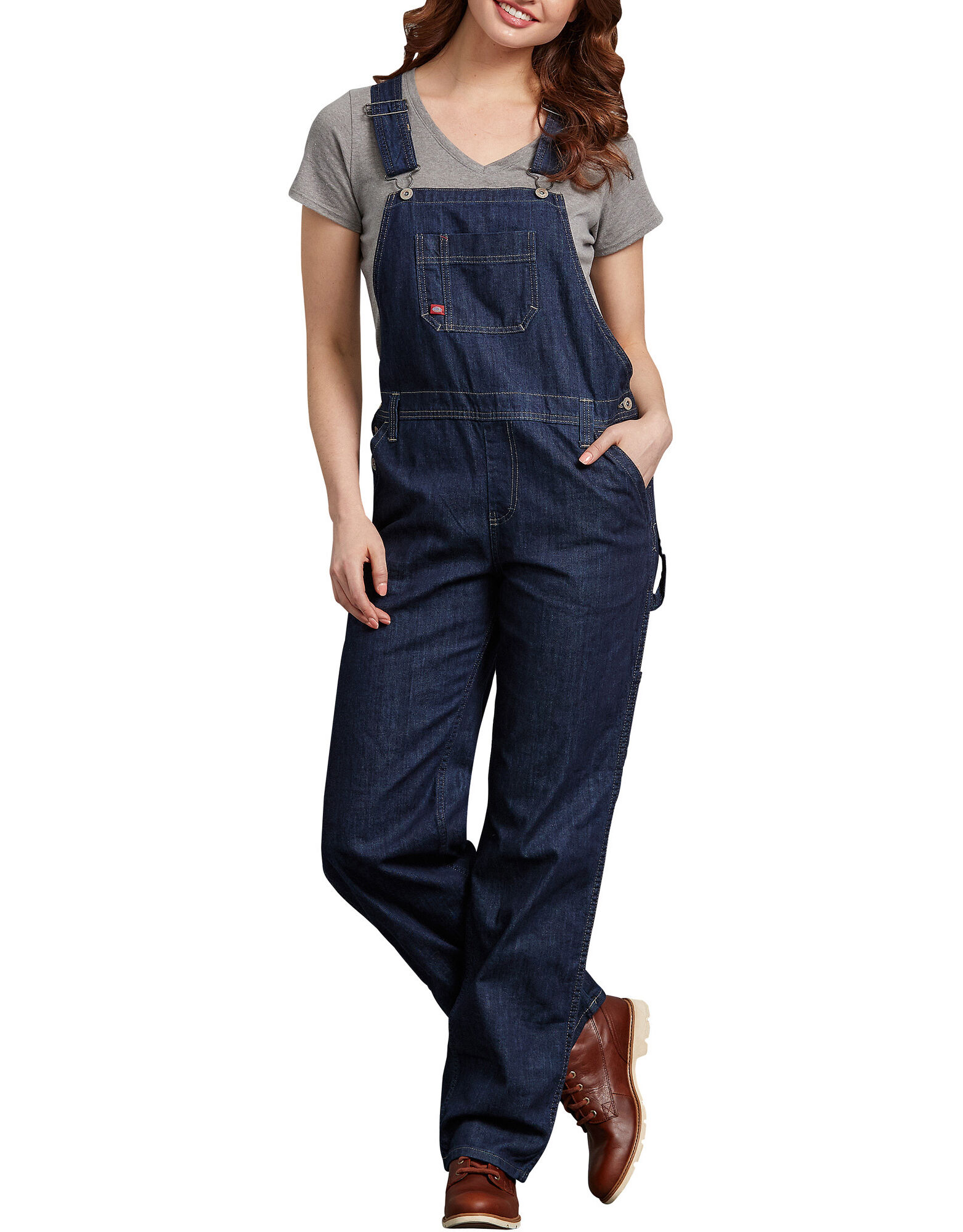 Overalls For Women Relaxed Fit Straight Leg Dickies