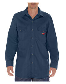 Flame-Resistant Long Sleeve Twill Snap Front Shirt