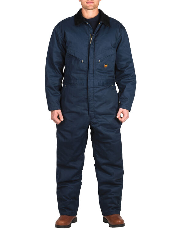 Zero-Zone by Walls® Twill Insulated Coverall - NAVY (NA9)