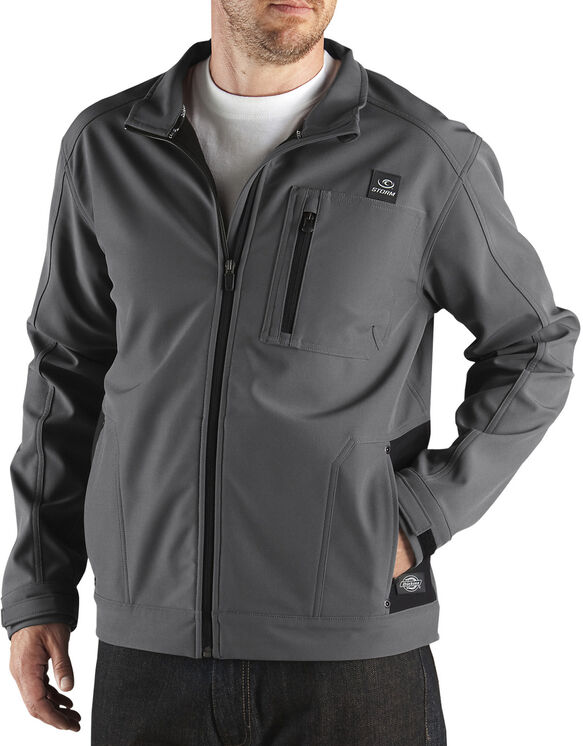 Performance Softshell Full Zip Jacket - CHARCOAL (CH)