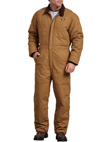 Sanded Duck Insulated Coverall - RINSED BROWN DUCK (RBD)