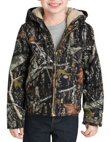 Boys' Sherpa Lined Duck Jacket, 4-7