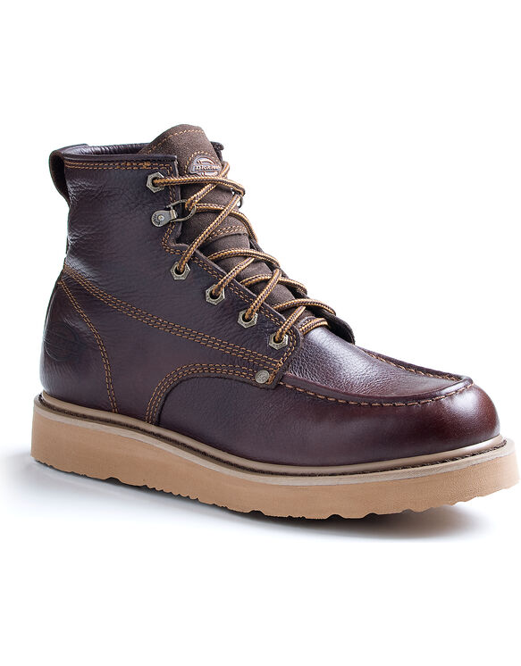 Men's Trader Work Boots - DARK BROWN-LICENSEE (FDB)