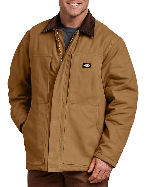 Manteau de travail en coutil brossé - Coutil brun (BD)