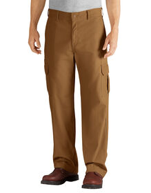 Relaxed Fit Straight Leg Cargo Duck Pant - RINSED BROWN DUCK (RBD)