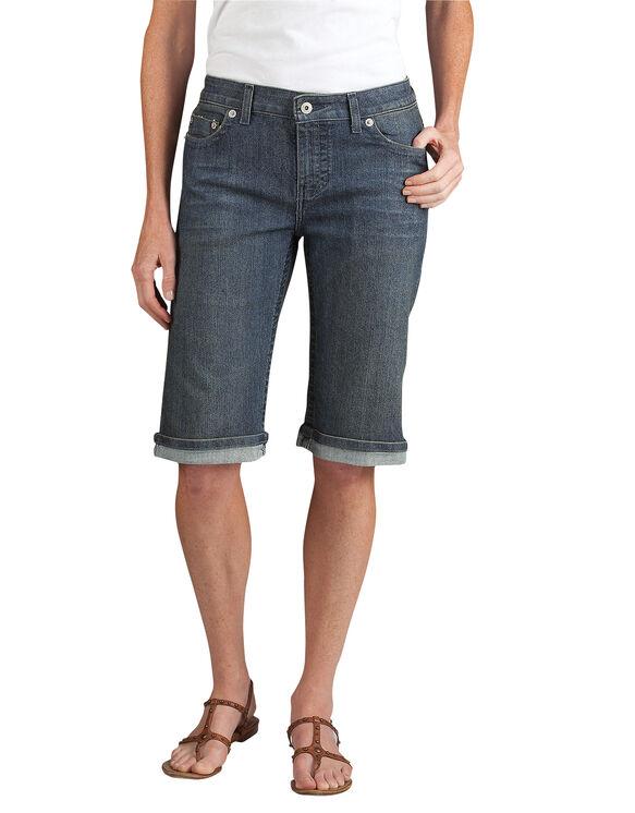 "Women's Slim Fit 13"" Stretch Denim 5-Pocket Short"