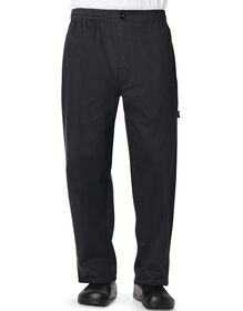 Men's Classic Trouser Chef Pant - BLACK (BLK)