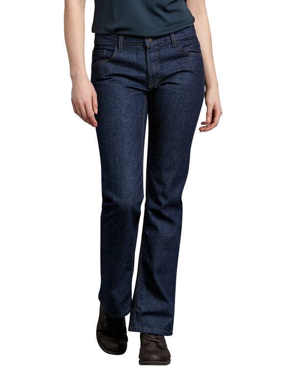 Women's Industrial Relaxed Fit Denim Jean