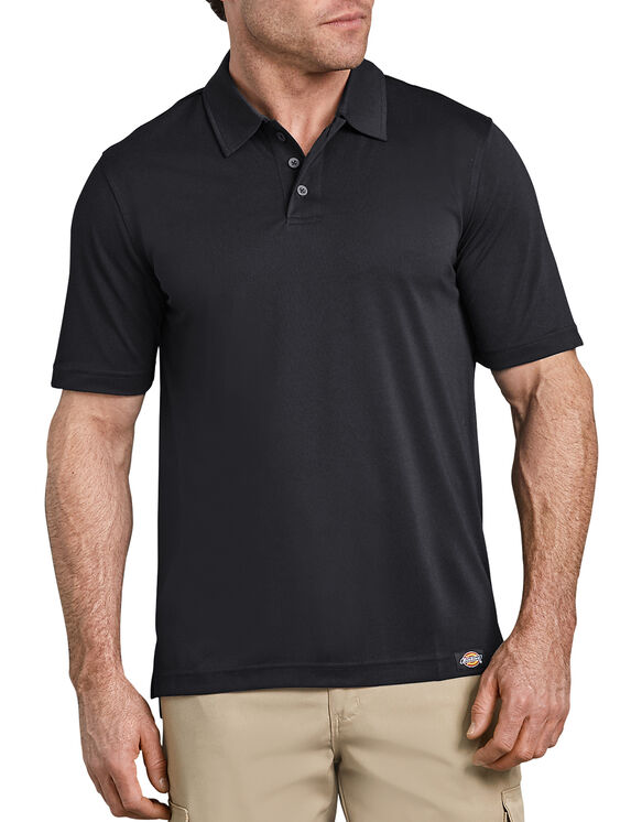 Industrial Performance Polo Without Pocket - BLACK (BK)