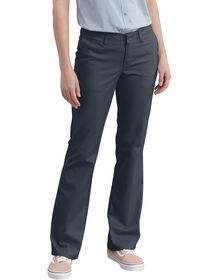 Women's Slim Fit Boot Cut Stretch Twill Pant - DARK NAVY (DN)
