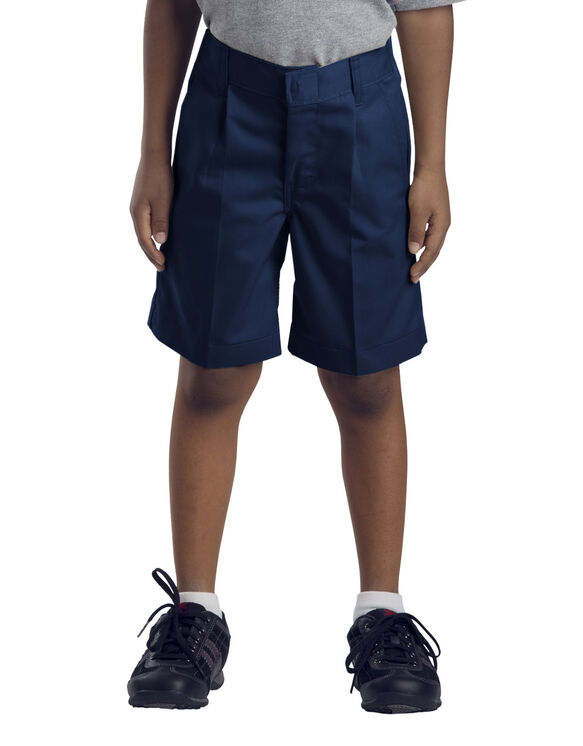 Boys' Pleated Front Short
