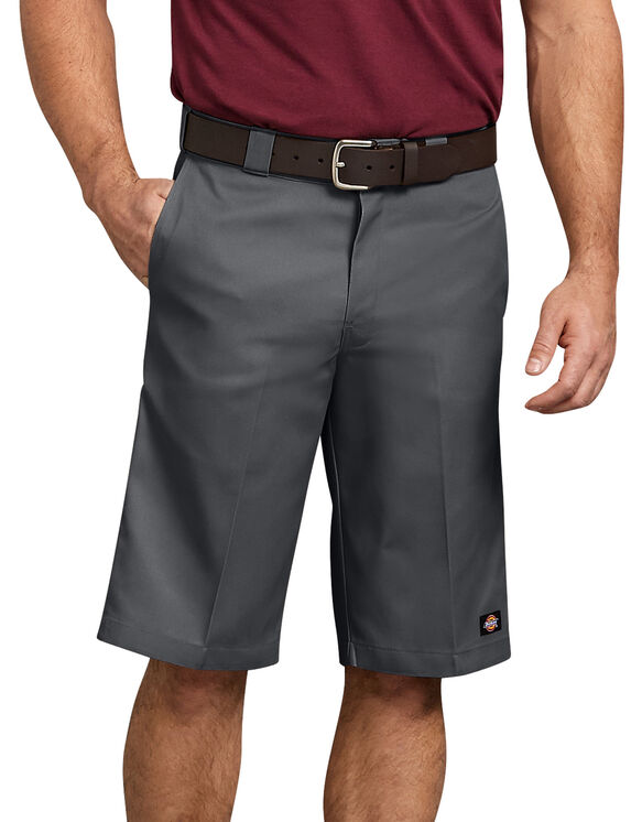 """13"""" Relaxed Fit Multi-Pocket Work Short - CHARCOAL (CH)"""