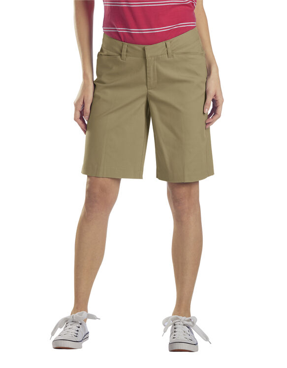 "Women's 10"" Relaxed Stretch Twill Short - DESERT SAND (DS)"