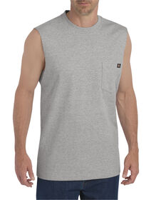 Muscle Tee - HEATHER GRAY (HG)