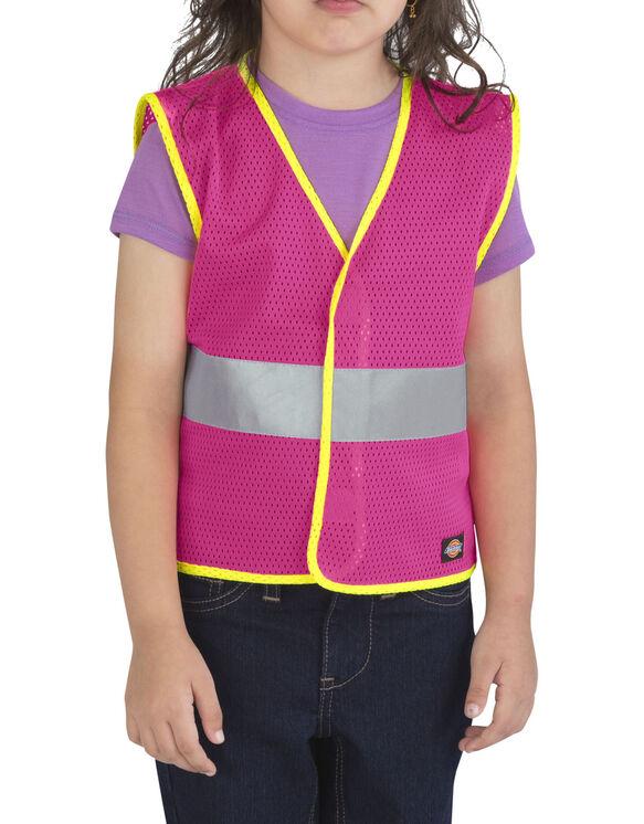 Toddler/Preschool E-Vis Safety Vest - NEON PINK (NK)