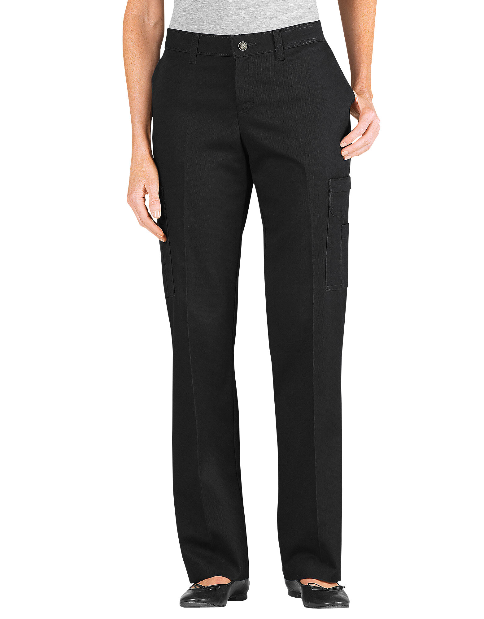 Simple  Women39s Industrial Cargo Pant Black24W X 37L Unhemmed  Walmartcom