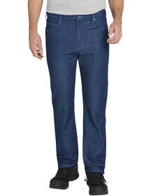 FLEX Regular Fit Straight Leg 5-Pocket Tough Max™ Denim Jean - STONEWASHED INDIGO BLUE (SNB)