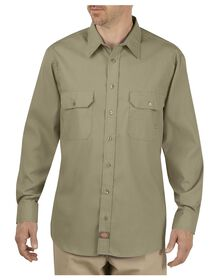 Industrial Premium Long Sleeve Mobility Shirt - DESERT SAND (DS)
