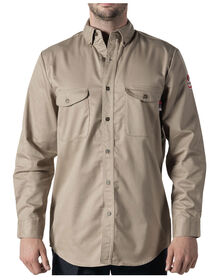 Walls® Flame Resistant Button-Down Work Shirt - KHAKI (KH9)