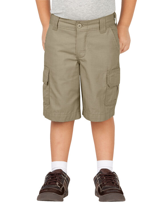 Toddler Relaxed Fit FlexWaist® Cargo Short - RINSED DESERT SAND (RDS)