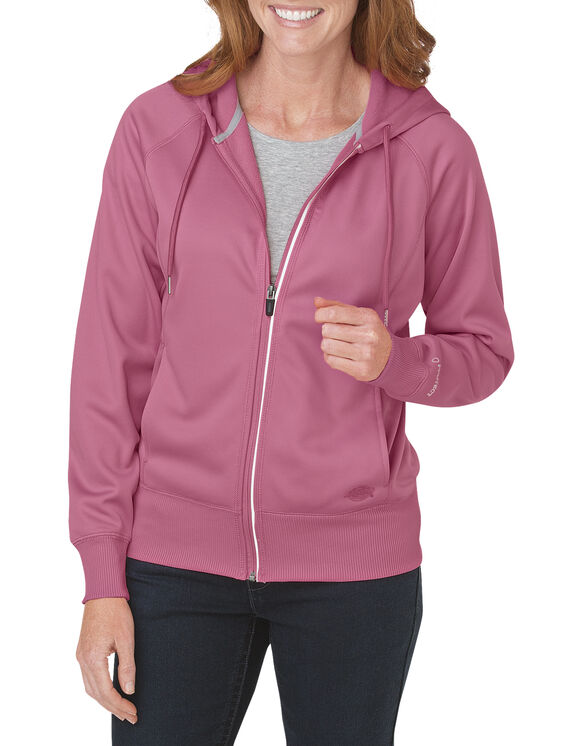 Women's Performance Full Zip Hoodie - PINK LEMONADE (ND)