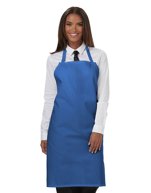 Unisex Bib Apron - ROYAL BLUE (RB)