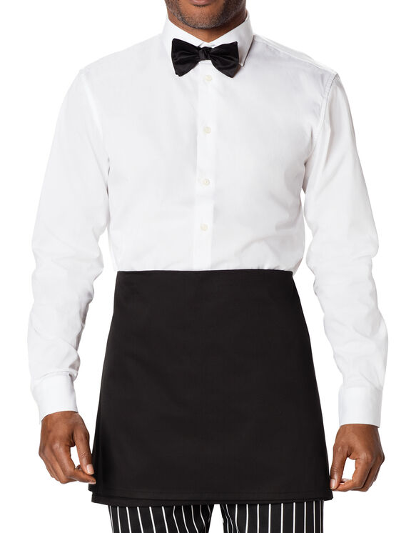 Unisex Waist Tie, Four-Way Apron - BLACK (BLK)
