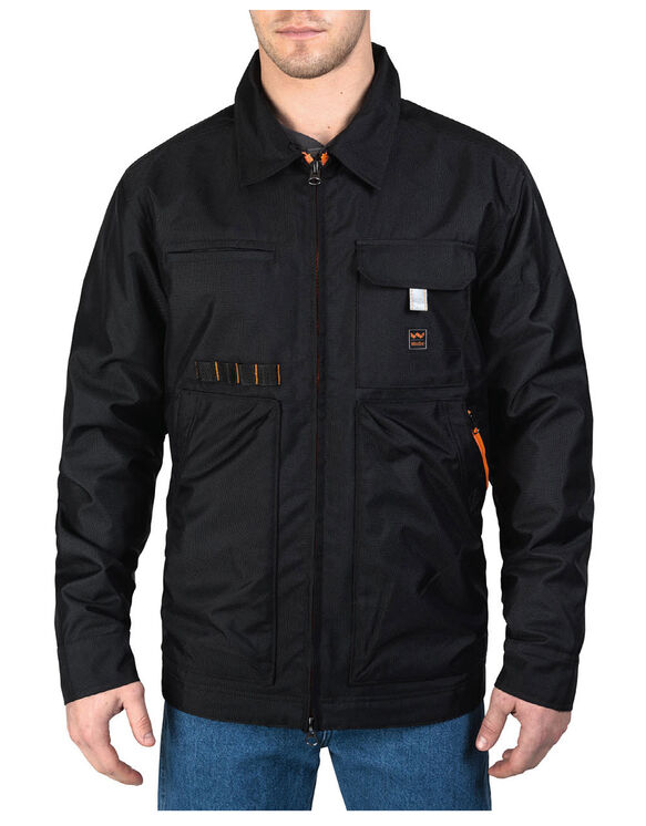 Walls® Modern Work Weston Collared Jacket - MIDNIGHT BLACK (MK9)