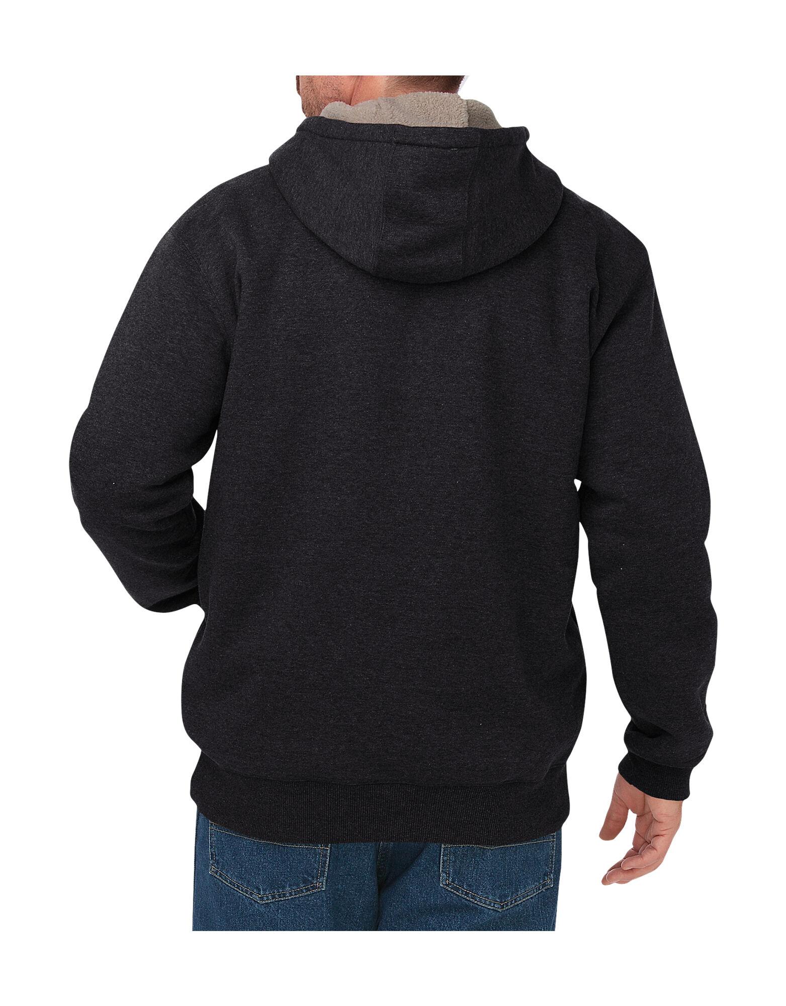 Fleece lined hoodie