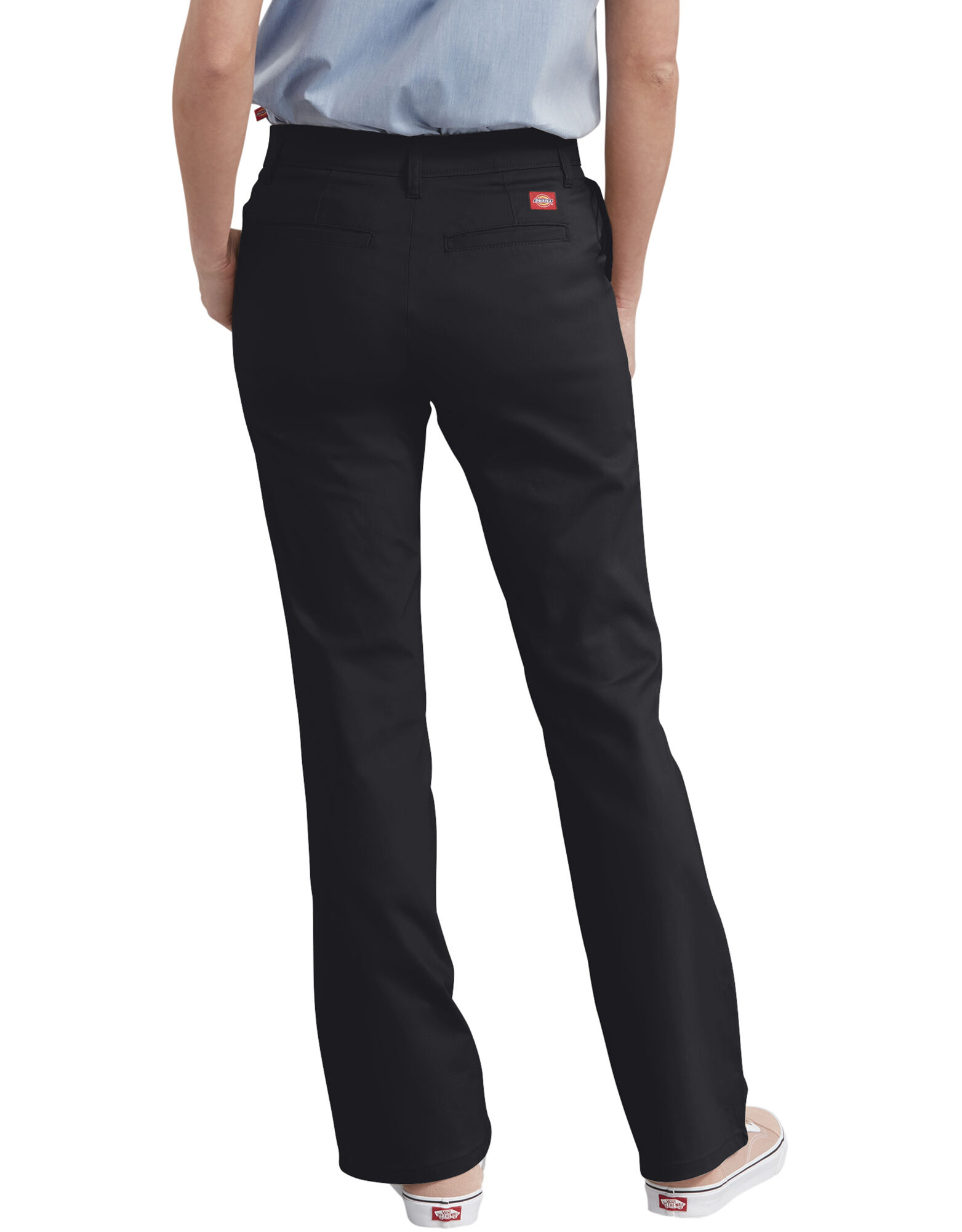 Perfect WOMEN U COTTON TWILL RELAXED PANTS BLACK Large
